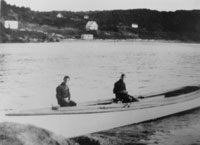 Frost boat in Whale Cove, c. 1908