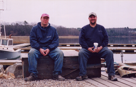 Jamie and Joe Lowell, 6th generation Maine boatbuilders