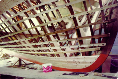 Lowell wooden boat building
