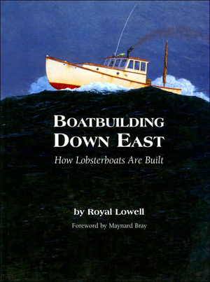 Lowell Boats - 35' Osprey - Maine wooden.